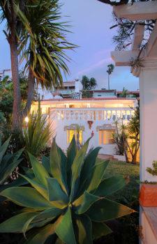 Ferienhaus Casa Lisl von aussen am Abend
