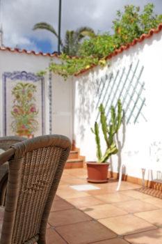 Terrasse vom Ferienhaus Moewennest auf Madeira